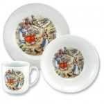 Toddler's Serving Set Peter Rabbit