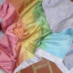 Sweet Dreams Silk/Flannel Blanket-Rainbow